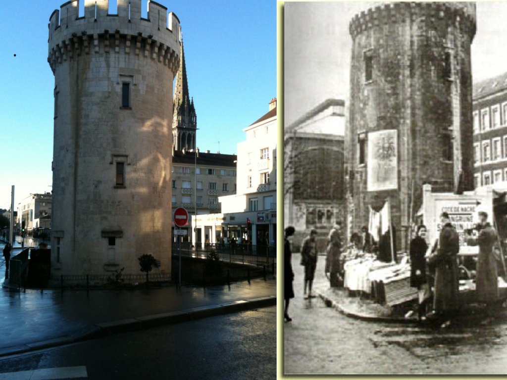 Before and After caen normandy