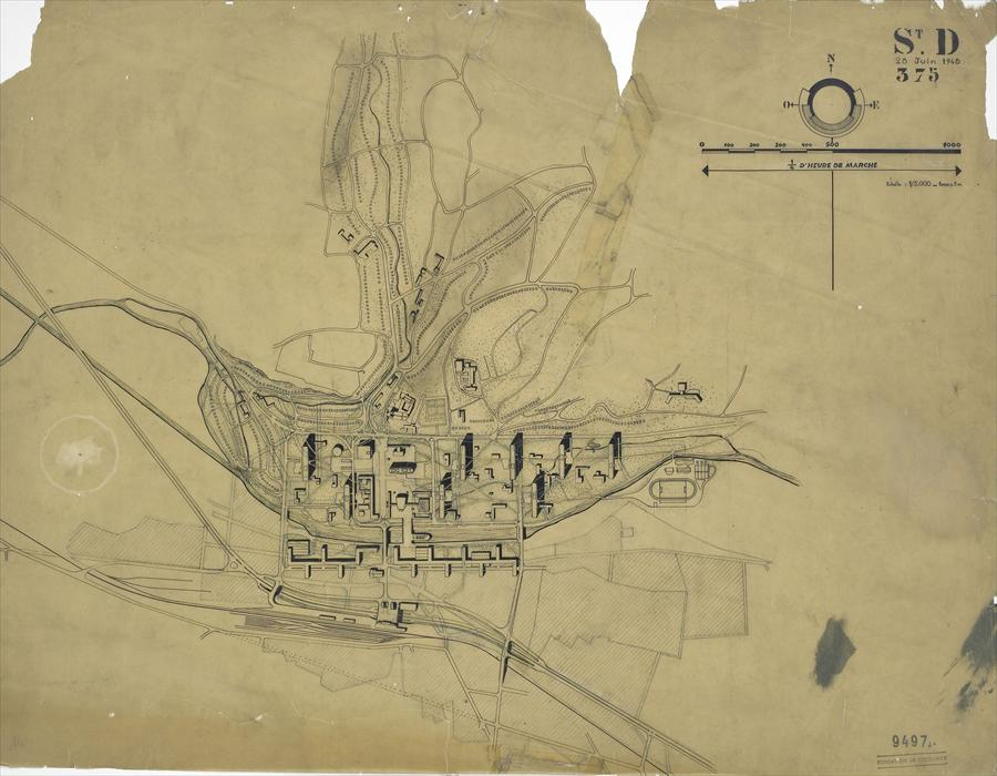 The Struggle of a Visionary-Le Corbusier and the St. Die Utopic Reconstruction Plans