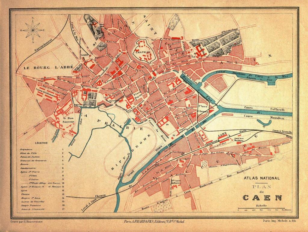 Caen during the 18th century