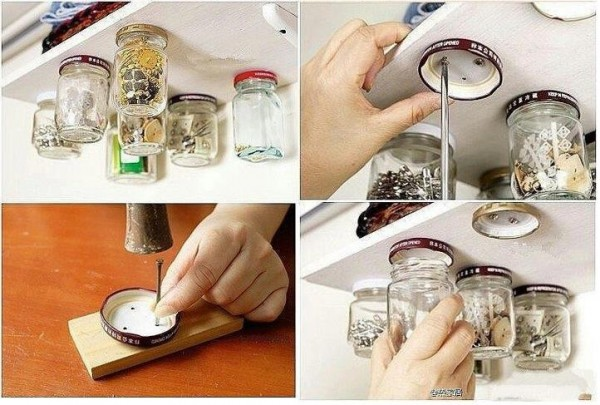 Do It Yourself Home Decorating Ideas: Clever DIY Storage Solution For Your Kitchen And Workshop