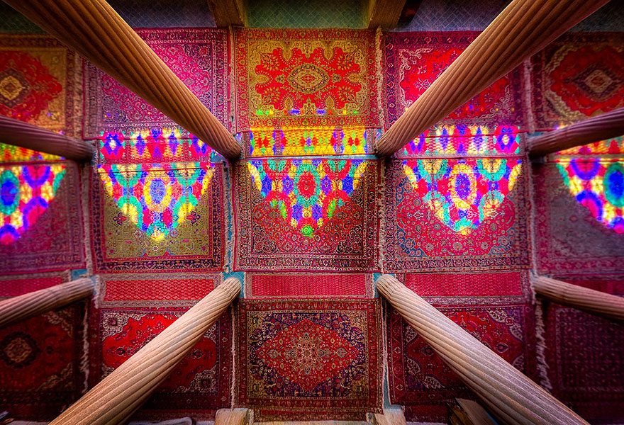 Iran's Mosques Captured By Mohammad Domiri