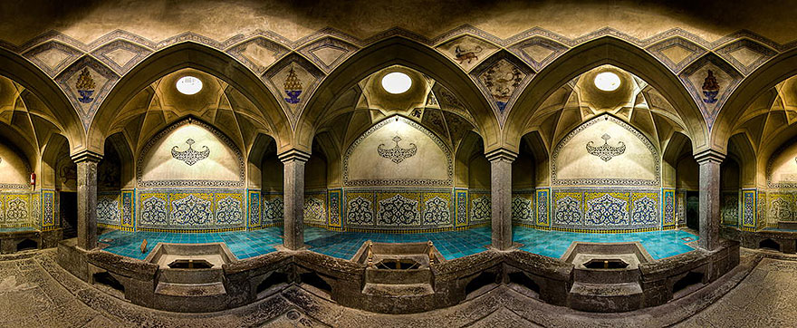 Detail in Iran's Mosques Captured By Mohammad Domiri