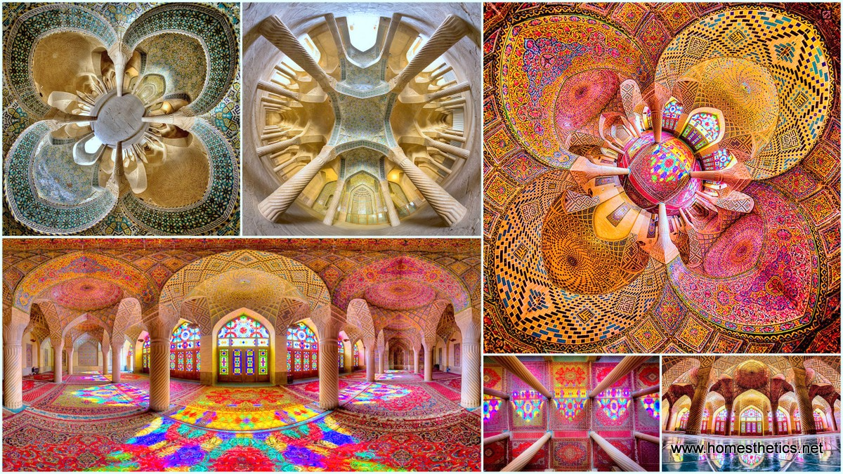 Colorful Exorbitant Level of Detail in Iran's Mosques Captured By Mohammad Domiri1