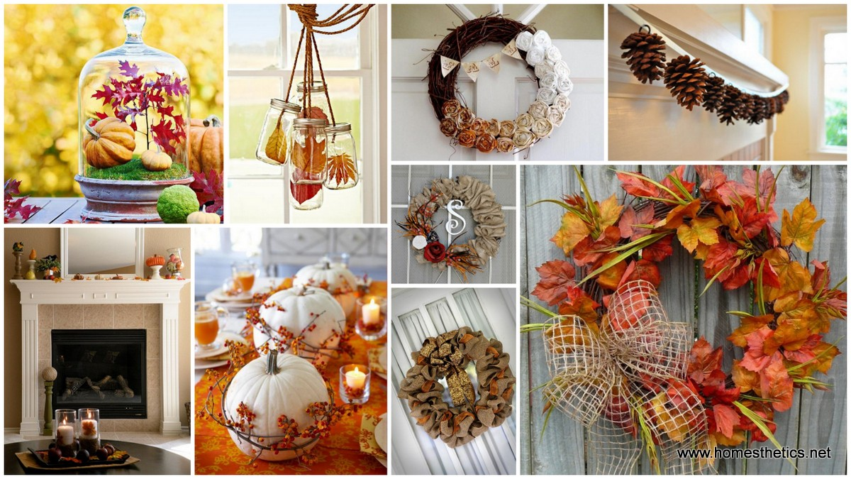 Diy autumn interior decor warm up your home and prepare for Themes for decorating your house