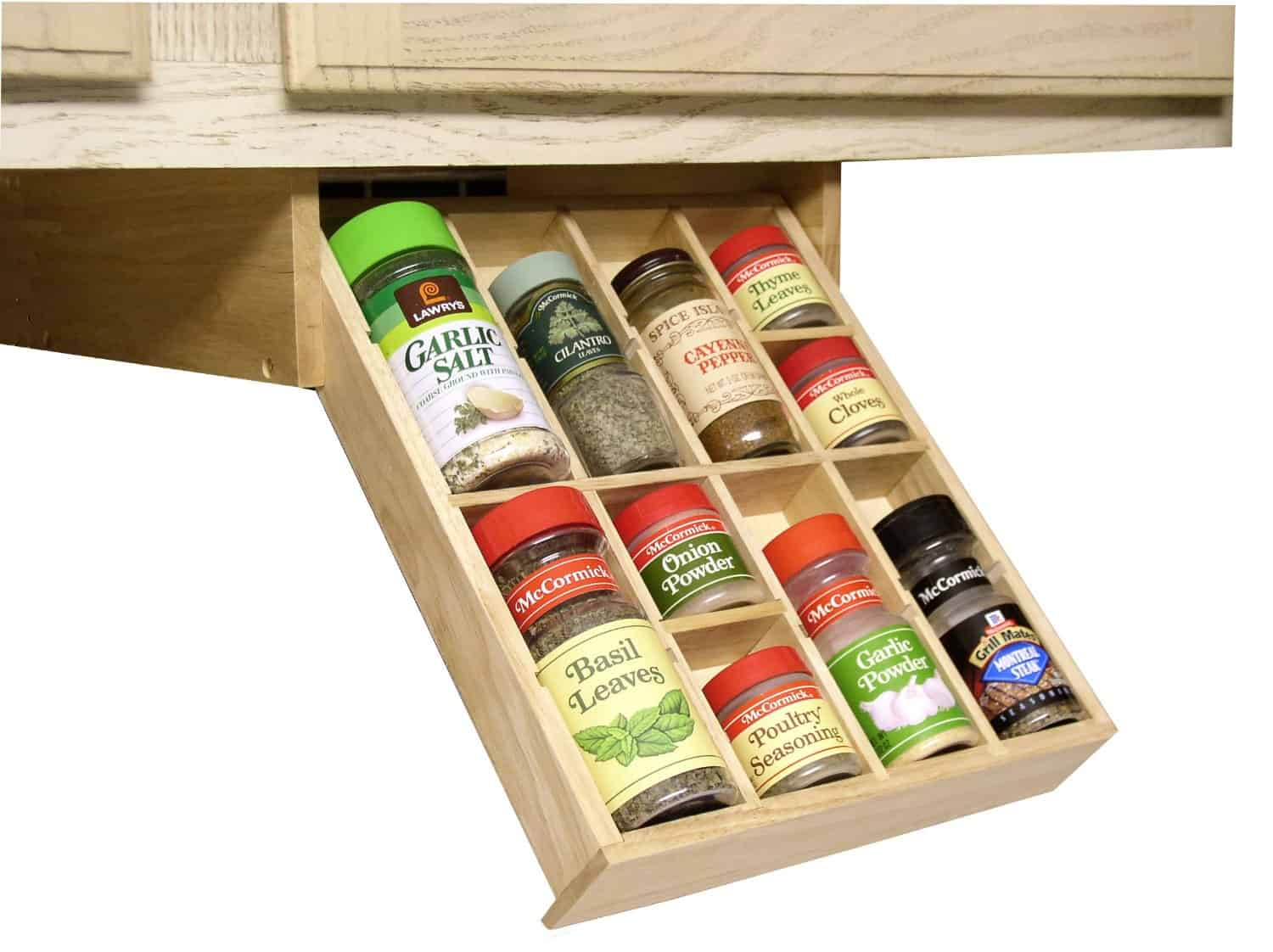 Charmant Hardwood Under Cabinet Organizer By Axis