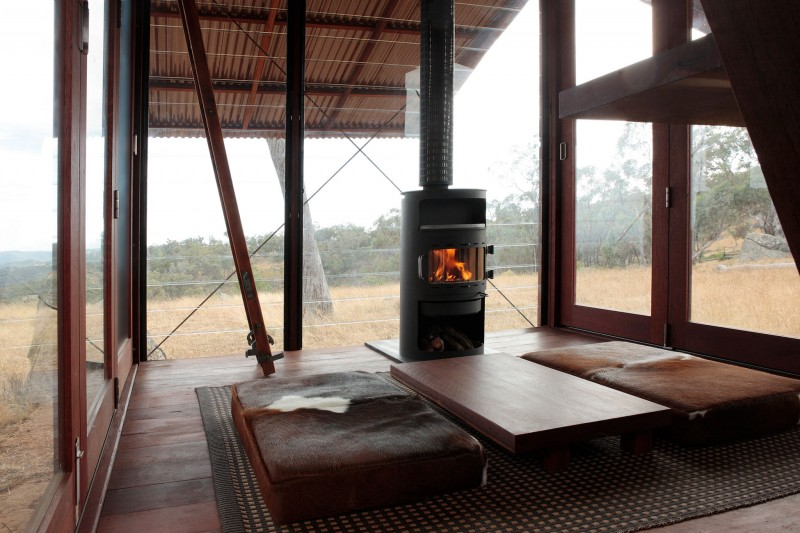 Mudgee Tower-Camping Hut With Expansive Views in Australia by Casey Brown (4)