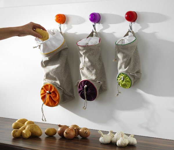 Practical storage ideas for your home orka vegetable keep sacks - Practical home tips easy solutions ...