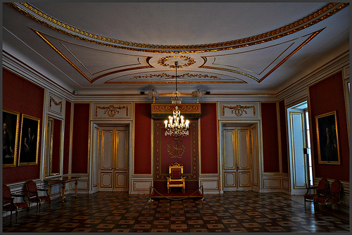 Royal Castle of Warsaw interior