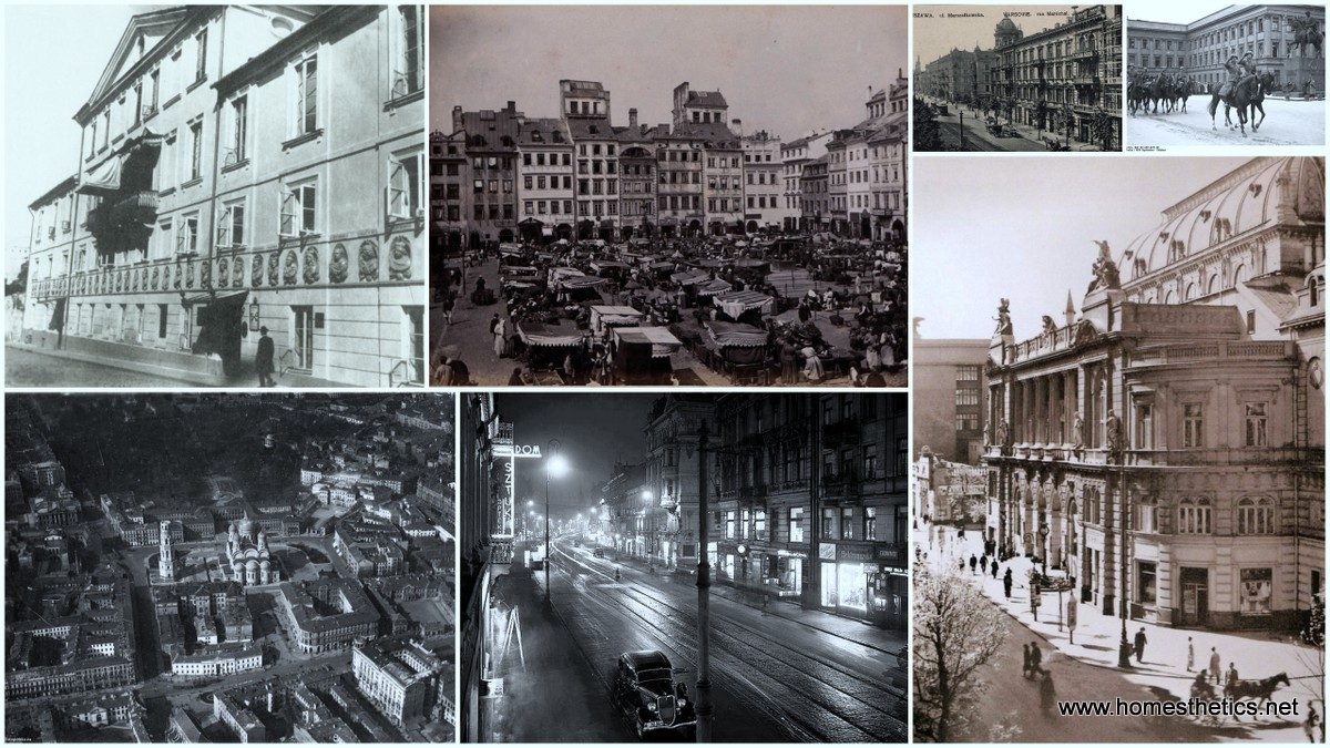 The Effect of the Third Reich on Warsaw and Its Uprising Into a Sprawling City1