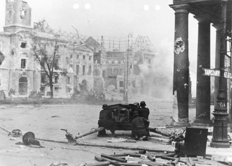 Warsaw Town Hall September 1944