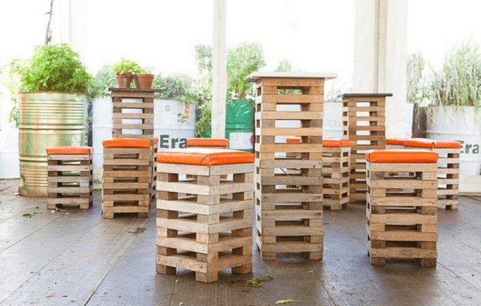 Wood Pallets Can Be Used To Make Any Piece Of Furniture Tables Beds