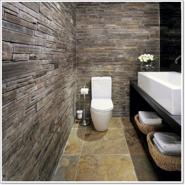 42 Ideas That Will Add Coziness and Warmth Into Your Rustic Bathroom Design homesthetics