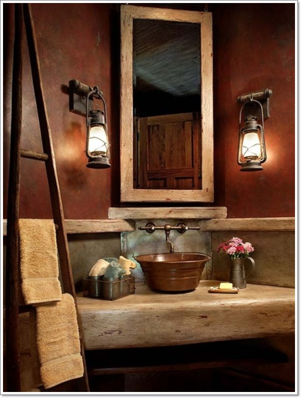 42 Exceptional Rustic Bathroom Designs Filled With Coziness and Warmth
