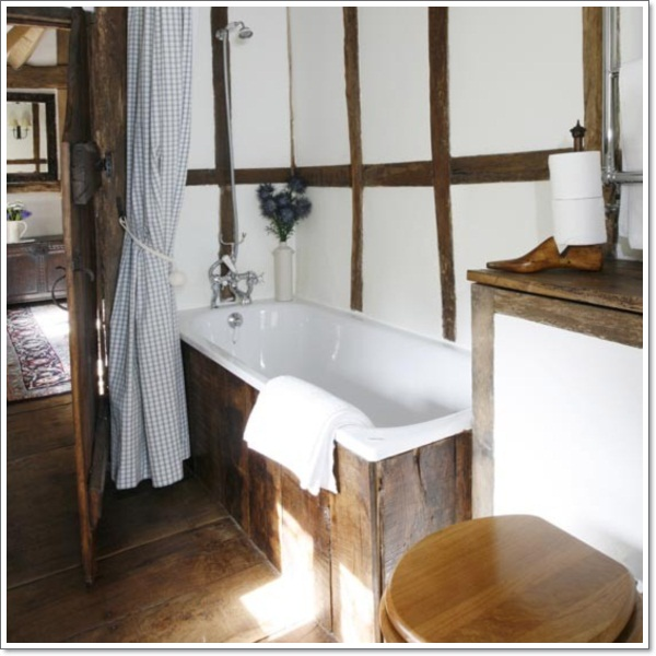 42 Exceptional Rustic Bathroom Designs Filled With Coziness and Warmth ...