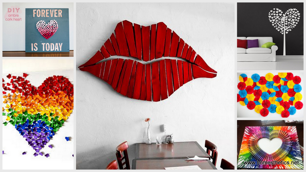 Superbe Creative DIY Wall Art Projects For Under $50