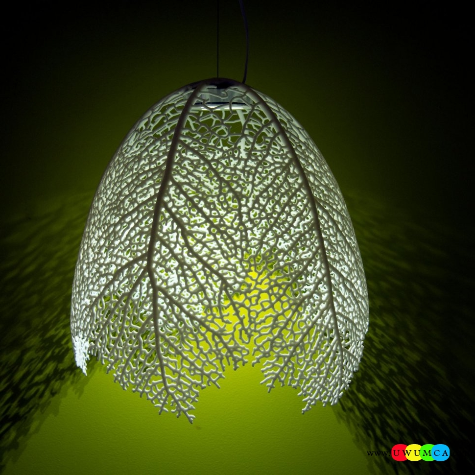 19. The leaf lamp offers wonderful light filtering