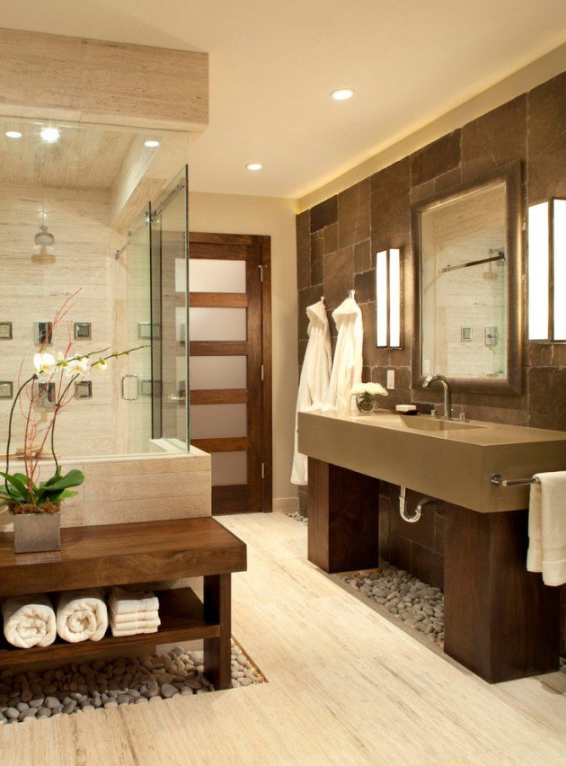 15 Flawless Contemporary Bathroom Designs You Definitely Need To See homesthetics (13)