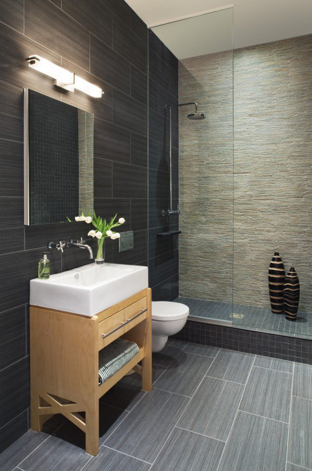 15 Flawless Contemporary Bathroom Designs You Definitely Need To See homesthetics (3)