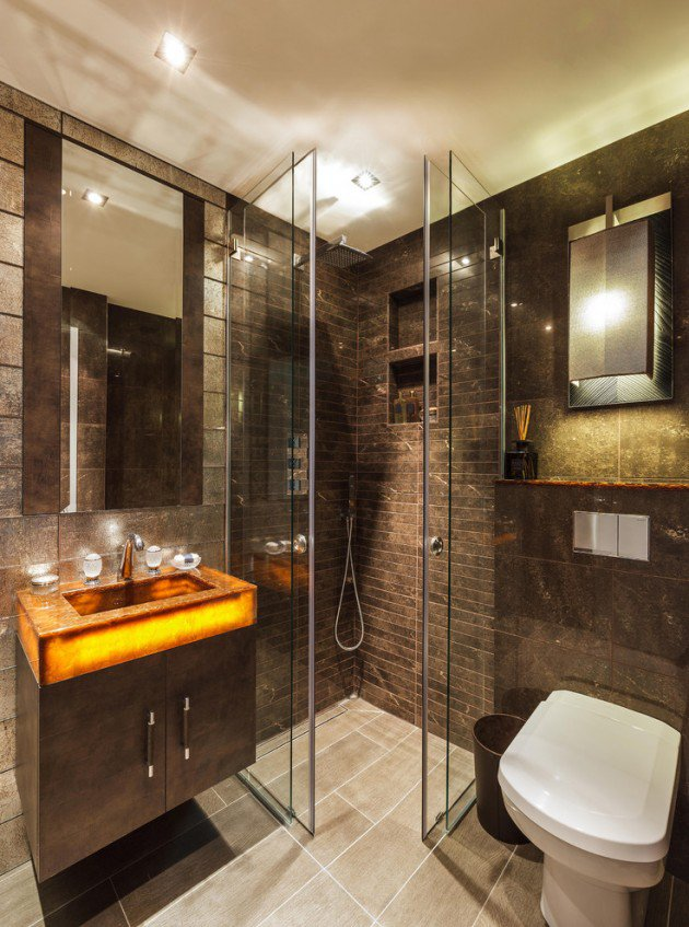 15 Flawless Contemporary Bathroom Designs You Definitely Need To See homesthetics (7)