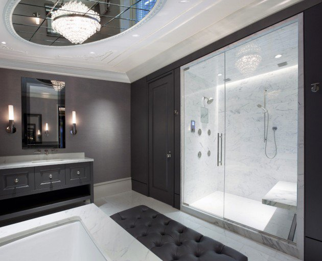 15 Flawless Contemporary Bathroom Designs You Definitely Need To See homesthetics (8)