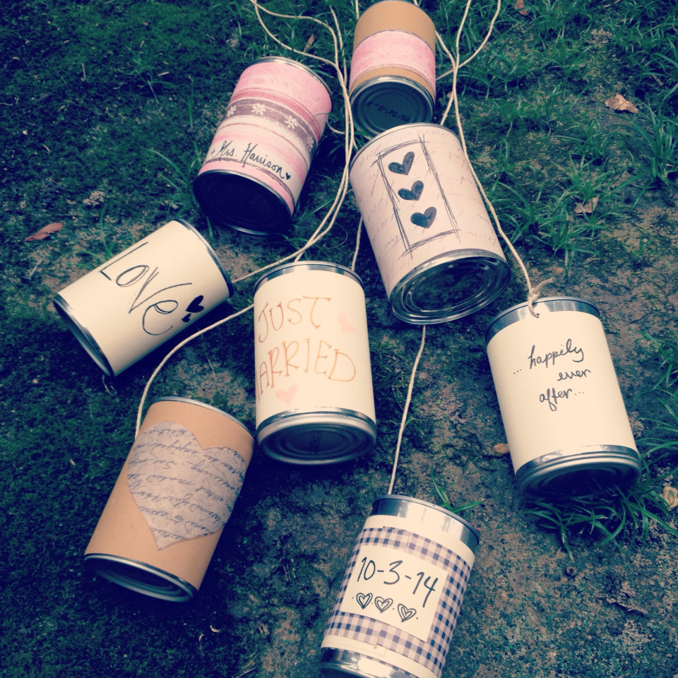 20 Creative Must See Wedding Ideas For Kids: 20 Creative Repurposed DIY Tin Cans Projects That You Must Try