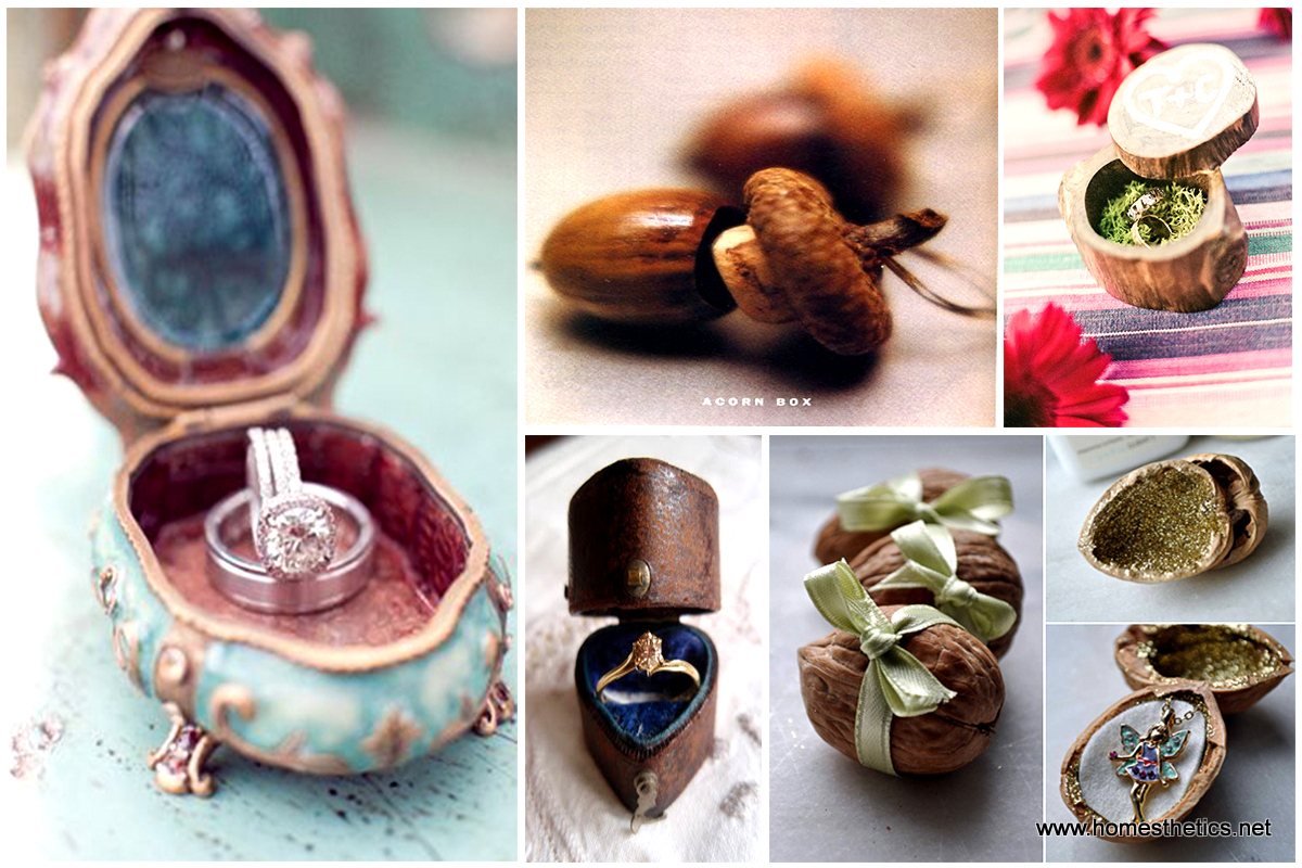 21 DIY Ring Boxes That Will Beautify and Add Romance To a Special Moment