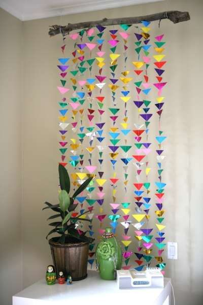 Delicieux 21 Extraordinary Smart DIY Paper Wall Decor That Will Color Your Life