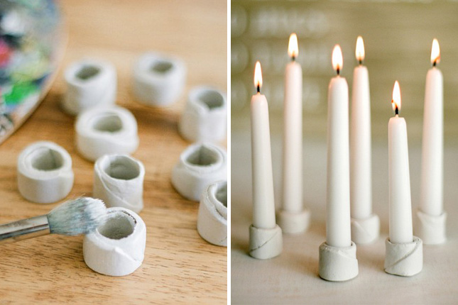 25 beautiful and simple diy candle holders projects that