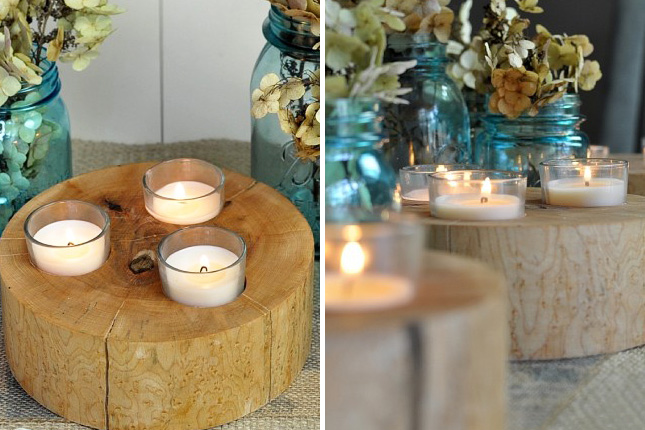 25 Beautiful and Simple DIY Candle Holders Projects That You Can Start Right Now