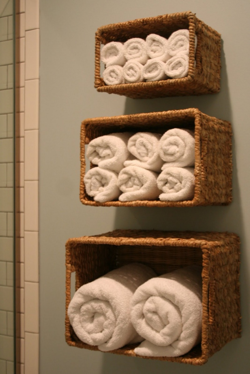 neat paper towerl 33 Bathroom Storage Hacks and Ideas That Will Enhance Your Home