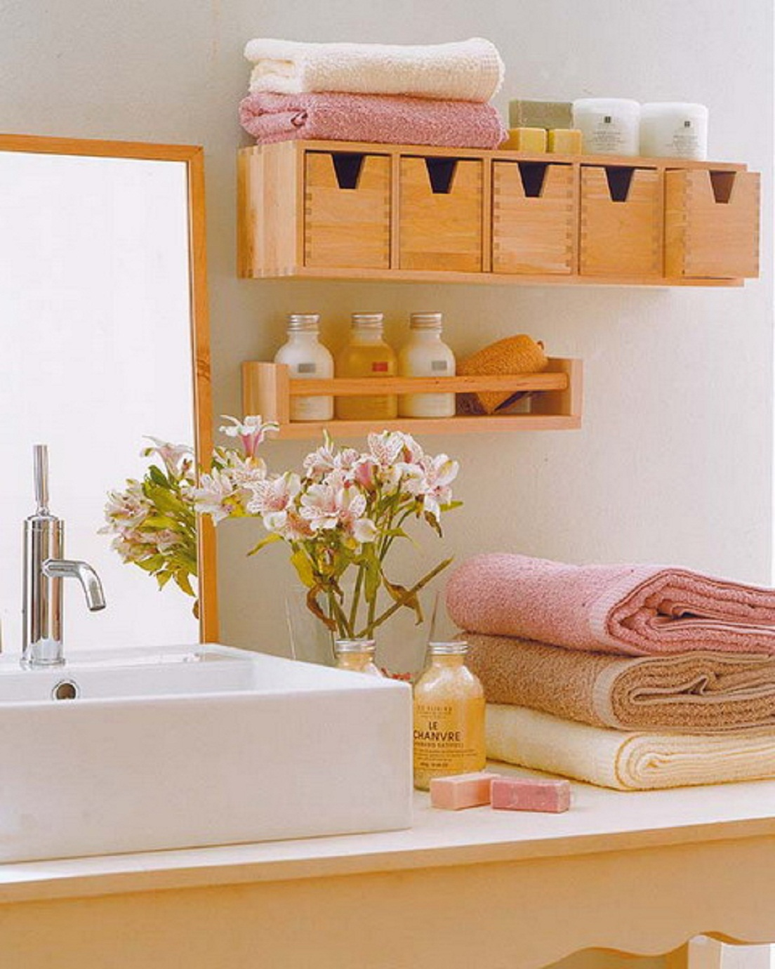 colorful cozy and warm 33 Bathroom Storage Hacks and Ideas That Will Enhance Your Home