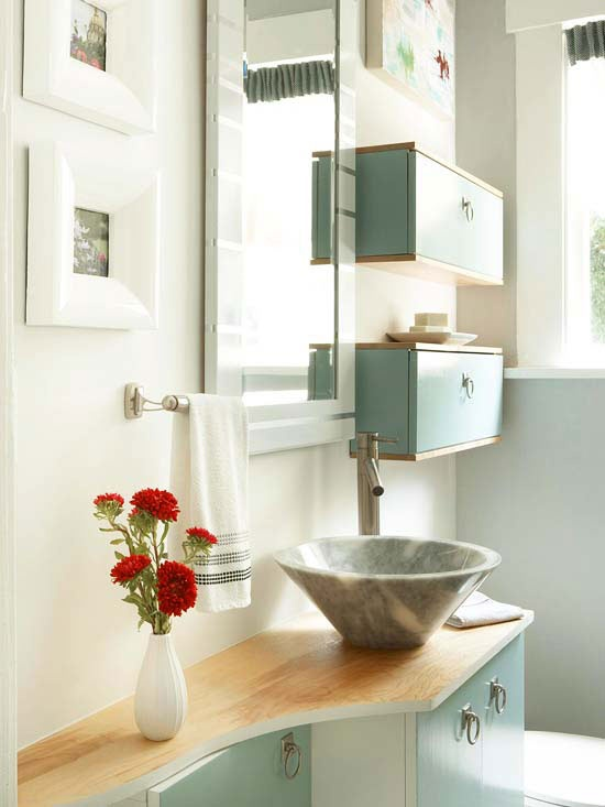 33 Bathroom Storage Hacks and Ideas That Will Enhance Your Home vanity sink Enlarge Room