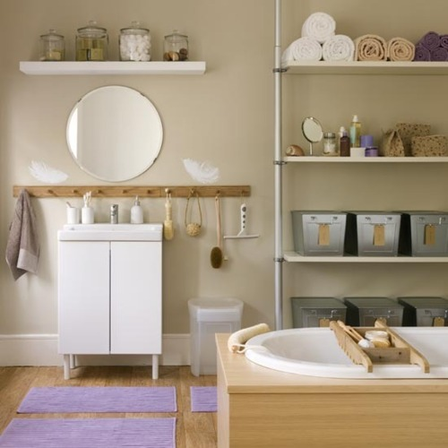 warmth coziness and simplicity in the 33 Bathroom Storage Hacks and Ideas That Will Enhance Your Home