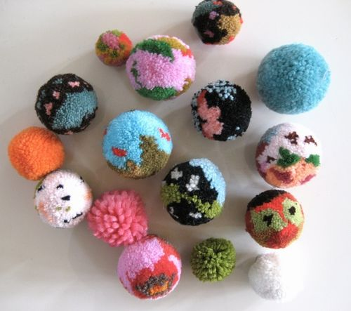 Cute Colorful Diy Pom Pom Crafts And Ideas Video Included
