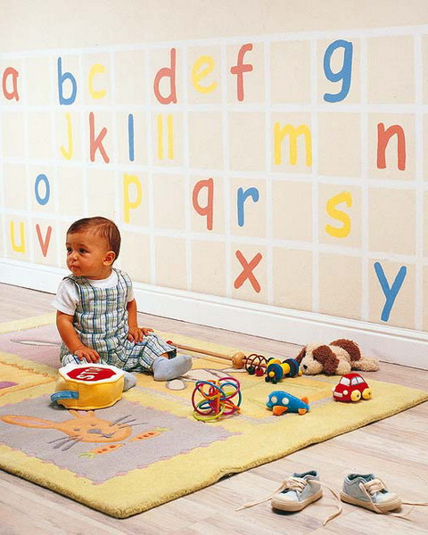Adorable Smart DIY Nursery Projects - Wall Decor-Growth Chart Ideas homesthetics (2)