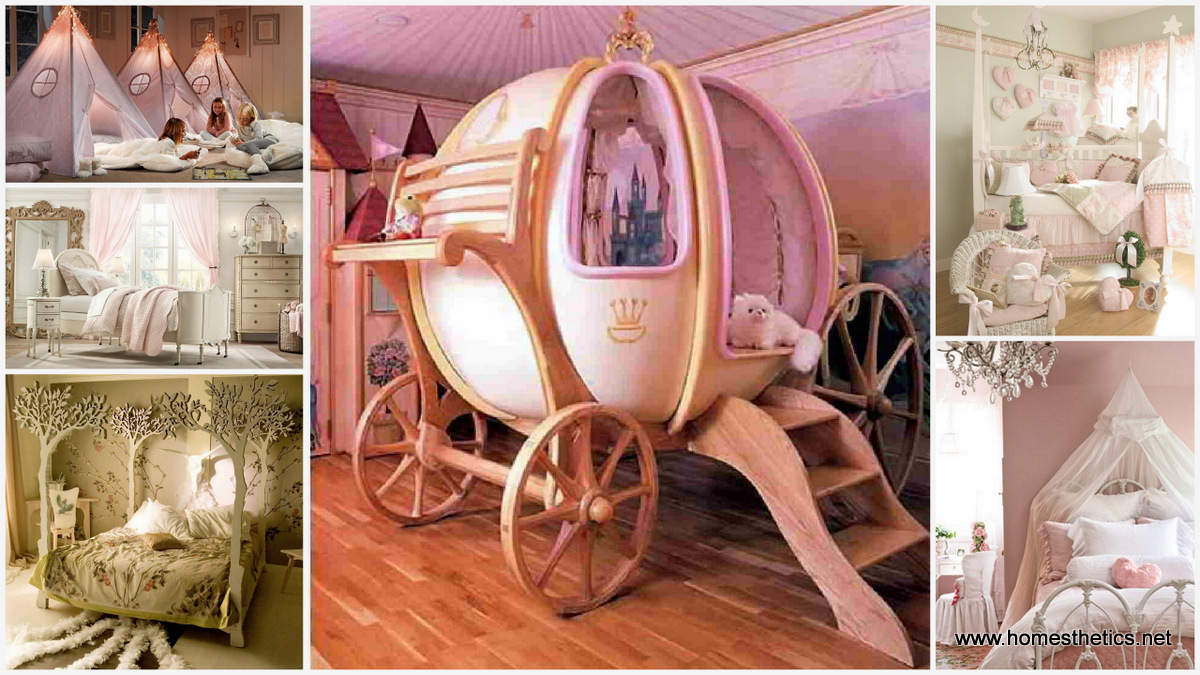 32 Dreamy Bedroom Designs For Your Little Princess