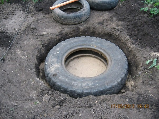 Create an Extraordinary DIY Pond From An Upcycled Old Tire!