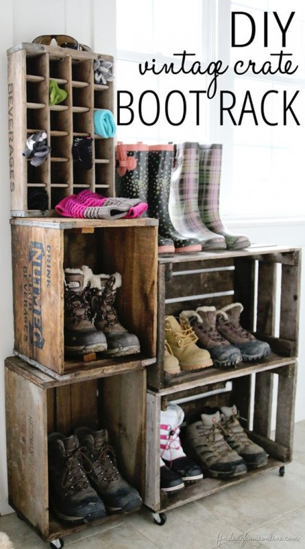 Creative Ideas on How to Re-purpose Old Wooden Crates-homesthetics