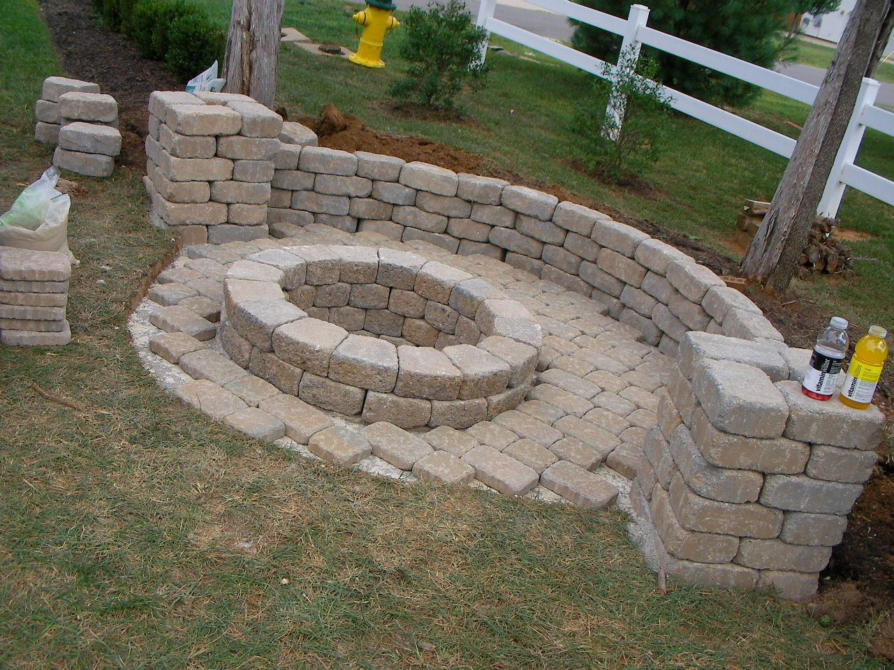 creatively luxurious diy fire pit project here to enhance
