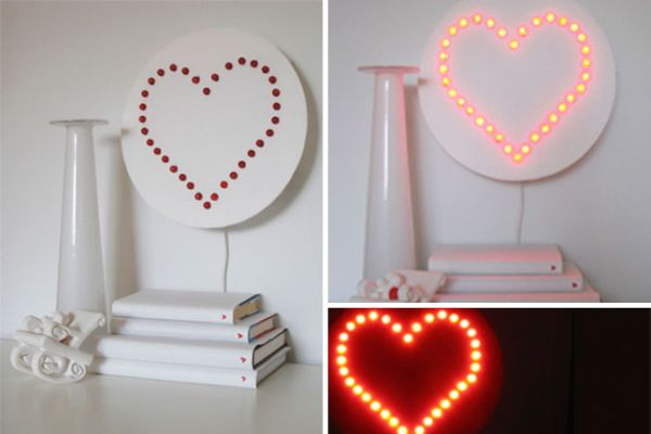light heart wall art