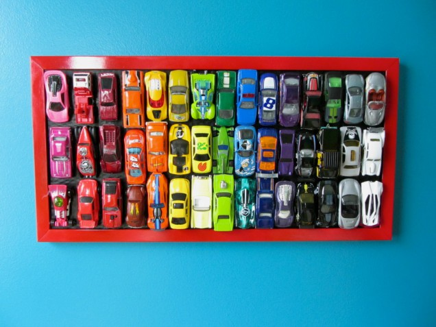 DIY Wall Art Projects cars