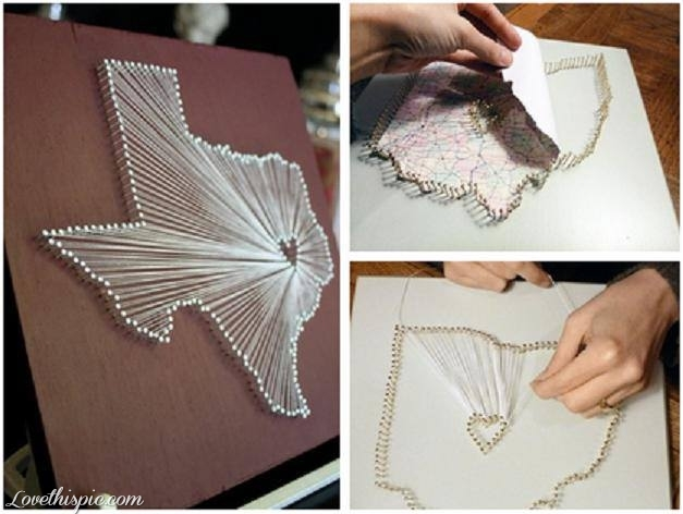 25 creative diy wall art projects under 50 that you for Do it yourself architectural drawings