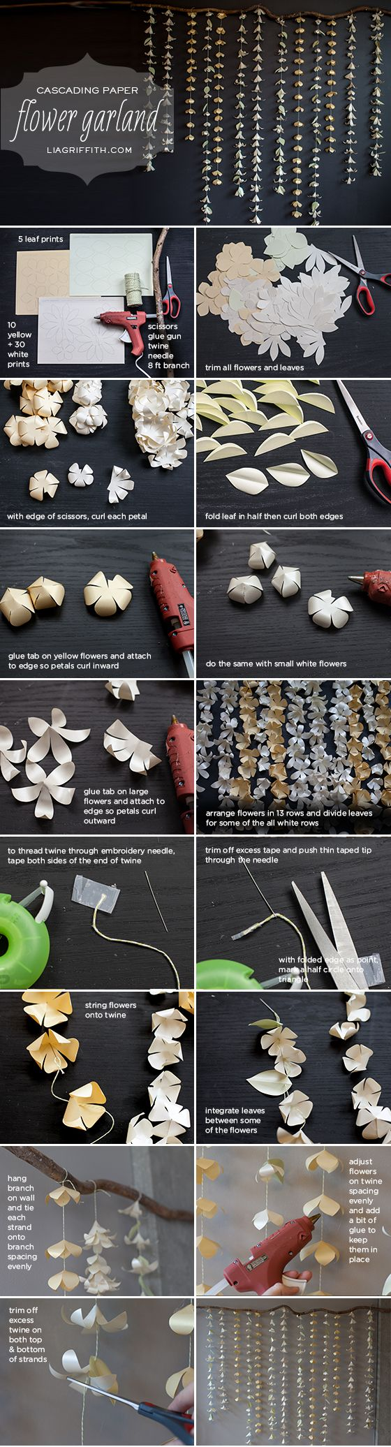 Mesmerizing DIY Handmade Paper Flower Art Projects To ...