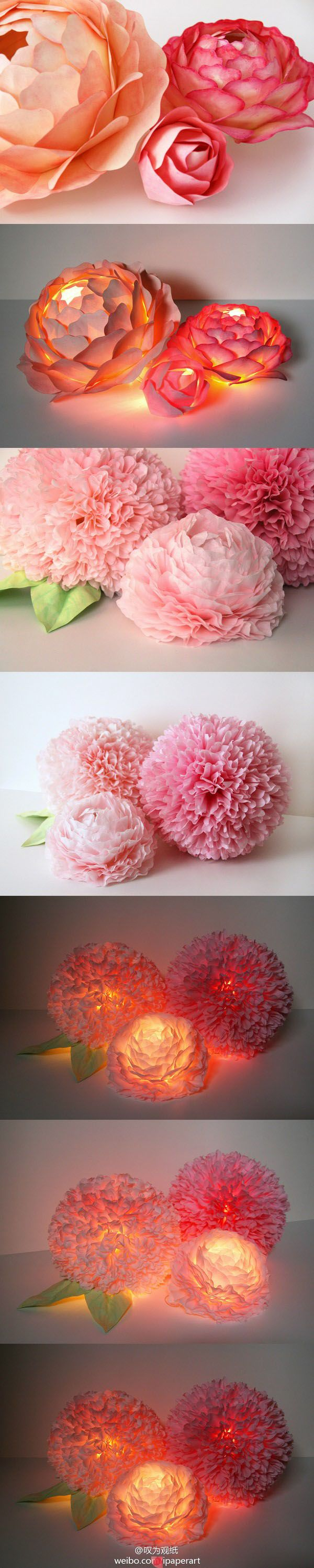 Mesmerizing diy handmade paper flower art projects to beautify your home diy handmade paper flower art mightylinksfo