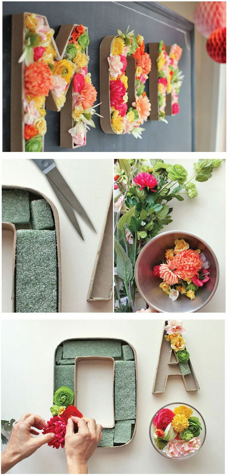 DIY Wall Flower Art-homesthetics (20)