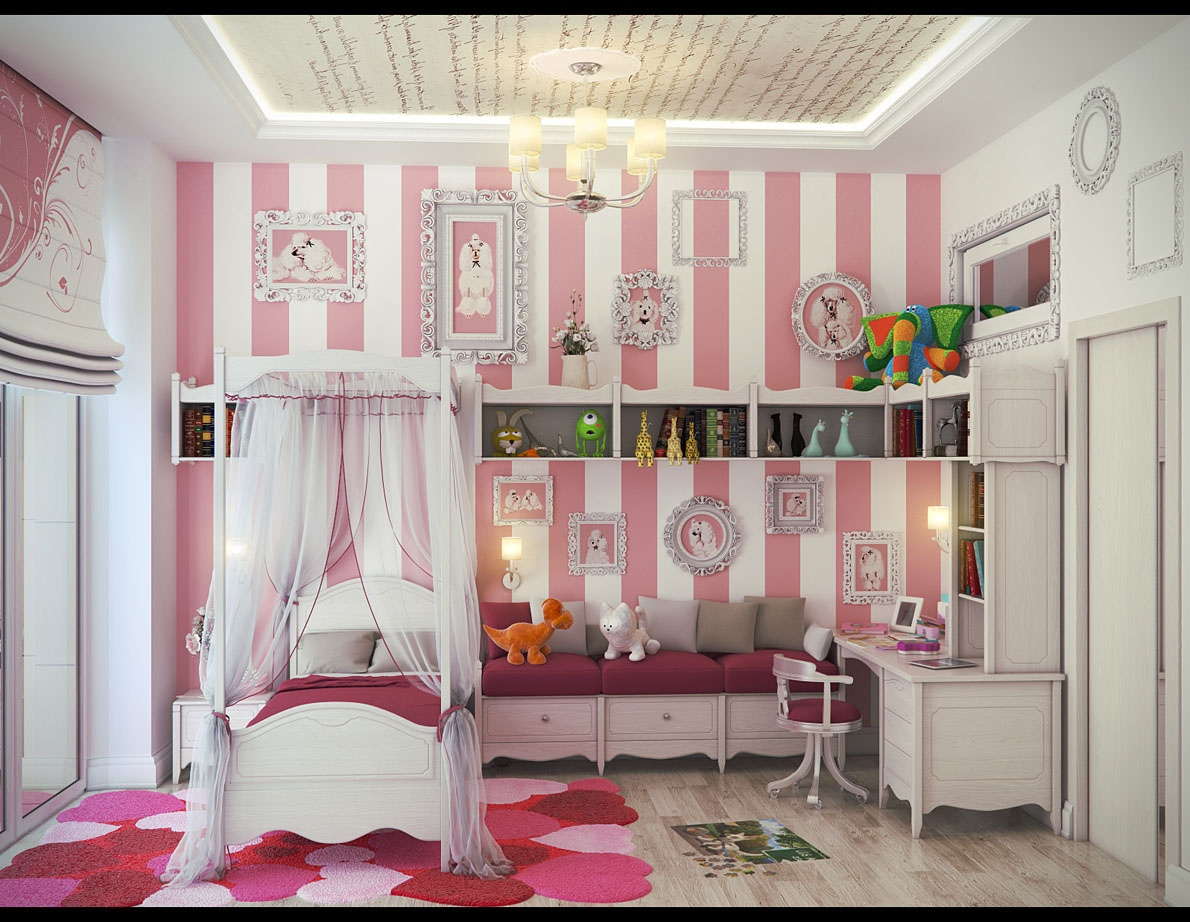 35 Dreamy Bedroom Designs For Your Little Princess Homesthetics