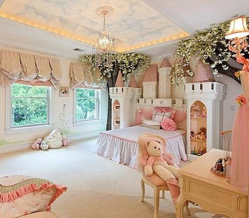 Superior 35 Dreamy Bedroom Designs For Your Little Princess Homesthetics