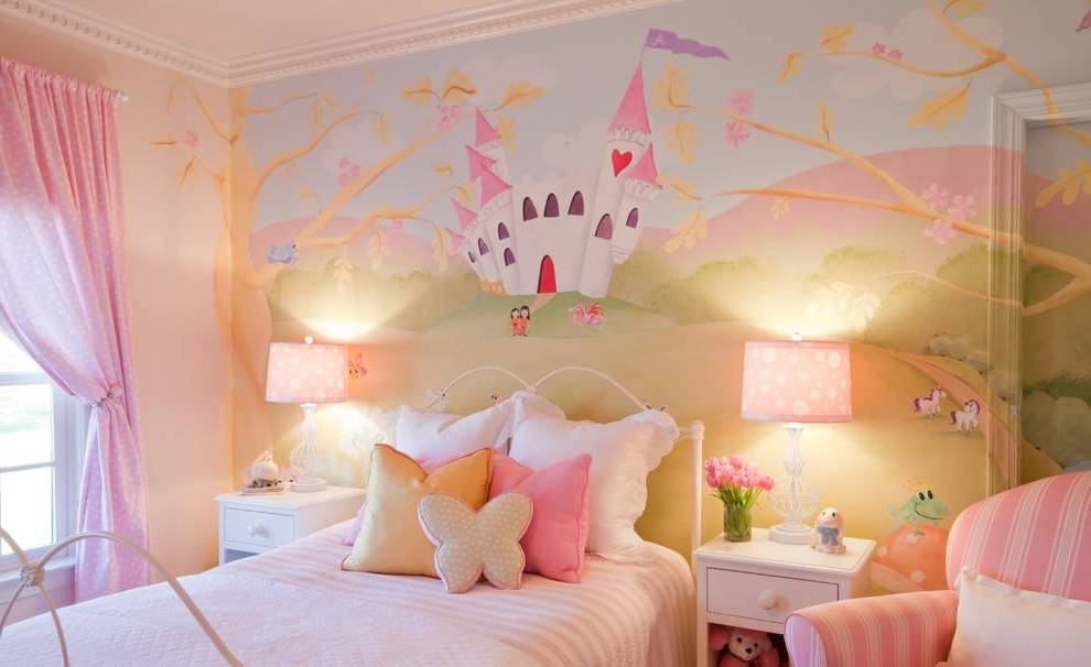 32 dreamy bedroom designs for your little princess for Interior design for kid bedroom