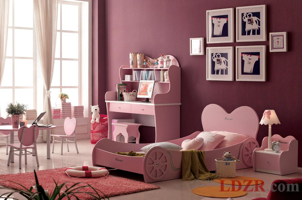 pink bedroom furniture. 35 Dreamy Bedroom Designs For Your Little Princess homesthetics 32