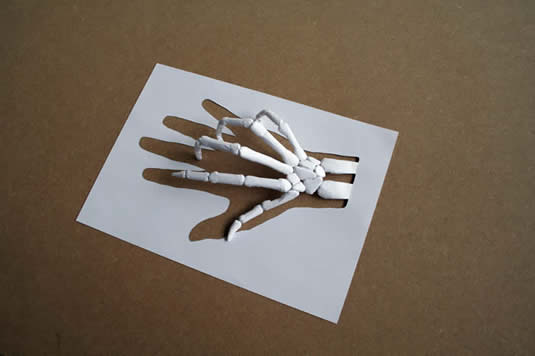 Examples of Paper Art by Peter Callesen